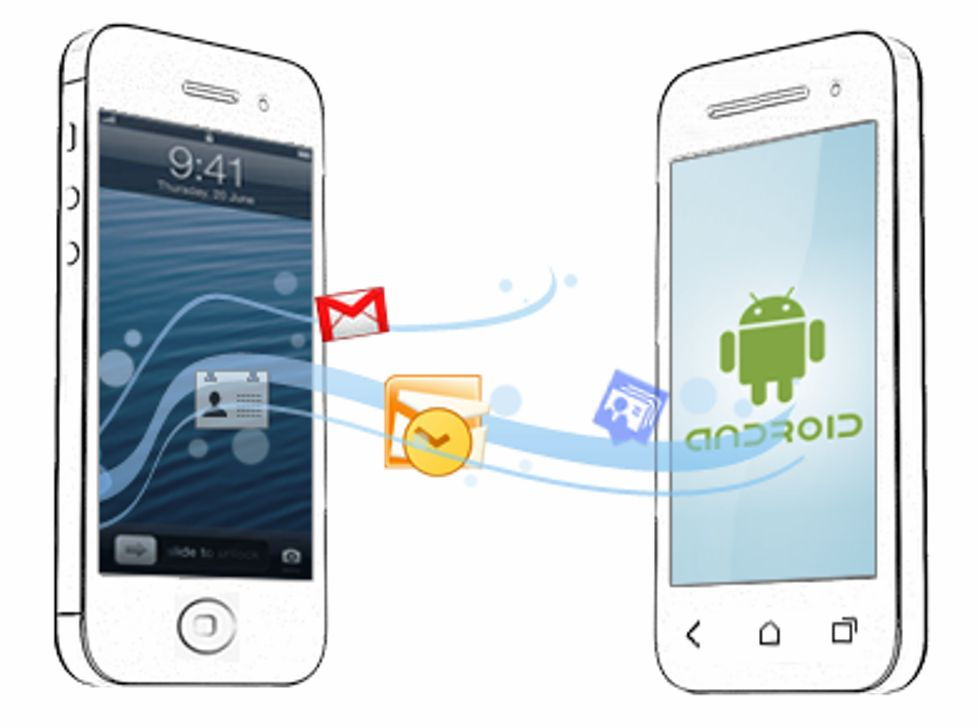 android to iphone transfer