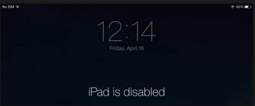 ipad-is-disable