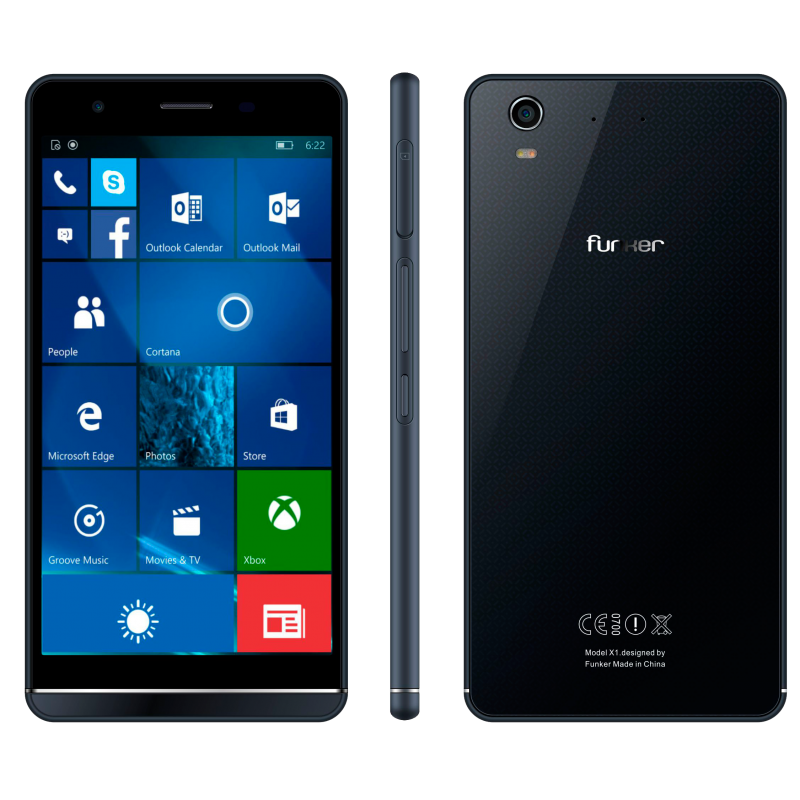 الهاتف Funker W5.5 Pro بنظام Windows 10 Mobile سيكلفك 260 دولار !
