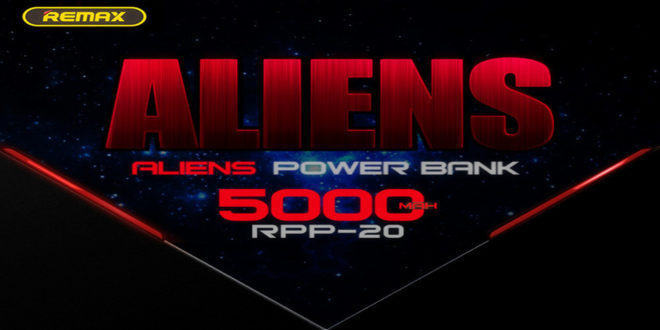 REMAX Aliens power bank 5000mAh